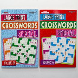 72 Units of Puzzle Books Large Print Pocket - Store