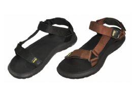 36 Units of Men's Velcro Strap Sandals - Men's Flip Flops and Sandals