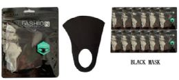 24 Units of Cloth Mask In Black - PPE Mask
