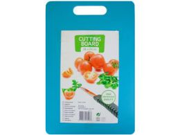 24 Units of Solid Color Plastic Cutting Board With Handle - Cutting Boards