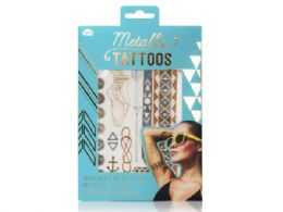 72 Units of Metallic Jewellery Tattoos Gold And Rose Gold - Tattoos and Stickers