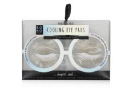 72 Units of Soko Ready Cooling Gel Eye Pads - Assorted Cosmetics