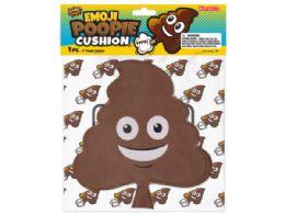 72 Units of 9 Inch Emoticon Poopie Cushion - Magic & Joke Toys