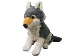 12 Units of Wild Republic Large Plush Wolf - Plush Toys