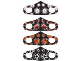 60 Units of Boys 4 Asst 5.7 X 4.3 Inch Fabric Face Mask - Face Mask