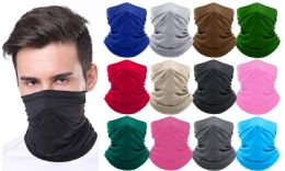 36 Units of Moisture-Wicking Breathable Stretch Face Mask Scarf MADE IN THE USA - PPE Mask