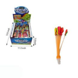 24 Units of 37 In 1 Water Balloons - Water Balloons