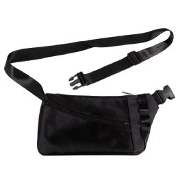 24 Units of Men's Sling Bag Casual Daypack Lightweight Shoulder Bag In Black - Fanny Pack