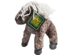 36 Units of Wild Republic 8in Plush Brown Speckled Pony - Plush Toys