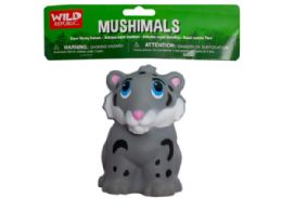 72 Units of wild republic mushimals squishy snow leopard - Slime & Squishees