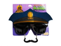 36 Units of Police Costume Glasses - Costumes & Accessories