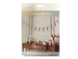 72 Units of Canvas Congratulations Banner - Party Banners