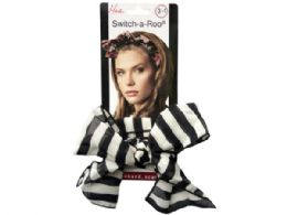 144 Units of Mia Beauty SwitcH- A- Roo Scarf - Hair Accessories