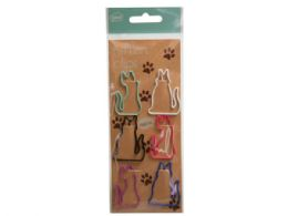 144 Units of cat paper clips - Store