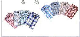 48 Units of MEN'S FASHION PLAID BUTTON DOWNS - Men's Work Shirts