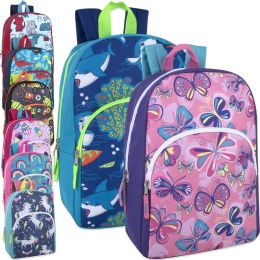 "24 Units of 15 Inch Character Backpacks - Backpacks 15"" or Less"