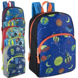 "24 Units of 15 Inch Character Backpacks For Boys - Backpacks 15"" or Less"
