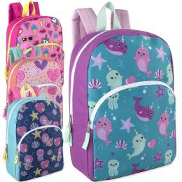 "24 Units of 15 Inch Character Backpacks For Girls - Backpacks 15"" or Less"
