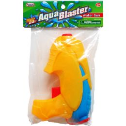 "48 Units of 6.75"" Water Gun In Poly Bag W/ Header, 2 Assrt Clrs - Water Guns"