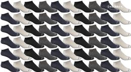 240 Units of Yacht & Smith Womens Poly Blend Light Weight No Show Ankle Socks Solid Assorted 4 Colors - Womens Ankle Sock