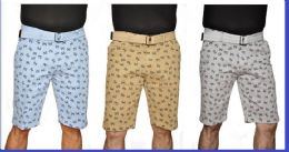 24 Units of MEN'S FASHION PRINTED CHINO SHORT - Mens Shorts