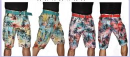 24 Units of MEN'S FASHION PRINTED CARGO SHORT - Mens Shorts