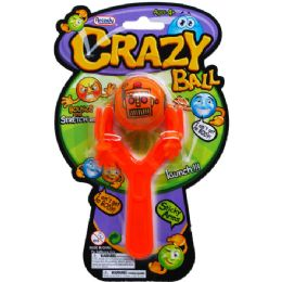 "72 Units of 4.5"" SLINGSHOT W/ 1.5"" BALL ON BLISTER CARD, 4 ASSRT CLRS - Water Balloons"