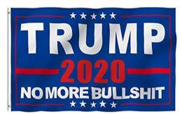 48 Units of 3'x5' Flag Trump 2020 NO MORE BULLSH*T - Signs & Flags