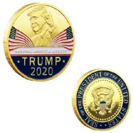 48 Units of Coin TRUMP 2020 - Coin Holders & Banks