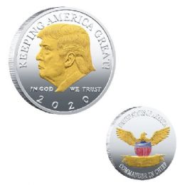 48 Units of COIN TRUMP 2020 KEEPING AMERICA GREAT - Coin Holders & Banks
