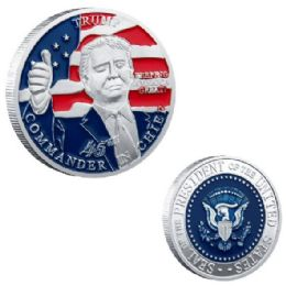 48 Units of TRUMP COMMANDER IN CHIEF - Coin Holders & Banks