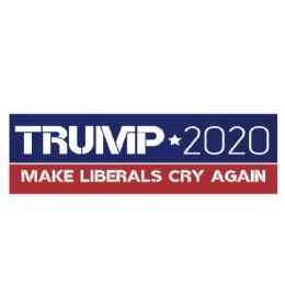 72 Units of Trump Bumper Sticker Make Liberals Cry Again - Stickers