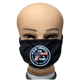 24 Units of Face Mask Gun Owners for Trump - Face Mask