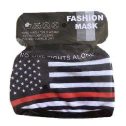 48 Units of Face Mask Thin Red Line - Face Mask
