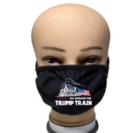 48 Units of Face Mask Trump Train - Face Mask
