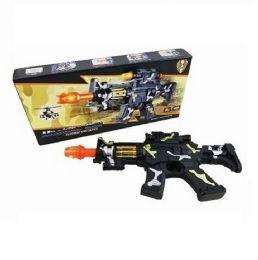 12 Units of Camo Machine Gun Sound Light Toy Gun - Toy Weapons