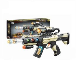12 Units of Sniper Rifle Sound Light Toy Gun - Toy Weapons