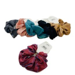 120 Units of Large Solid Scrunchie - Hair Scrunchies