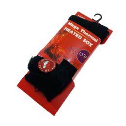 144 Units of Mega Thermal Heated Socks - Mens Thermal Sock