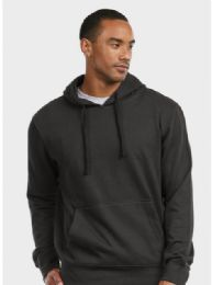 12 Units of ET TU MEN'S LIGHTWEIGHT FLEECE PULLOVER HOODIE MEDIUM - Mens Apparel