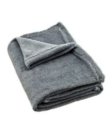 24 Units of Solid 50X60 Throw - Micro Plush Blankets