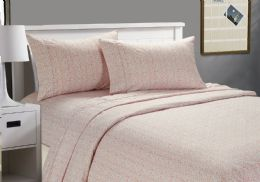 12 Units of Cozy Home Printed Sheets Assorted Style Queen Size - Bed Sheet Sets
