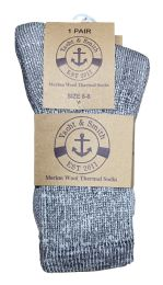 36 Units of Yacht & Smith Kids Merino Wool Thermal Winter Camping Boot Socks - Boys Crew Sock