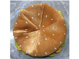 12 Units of Hamburger Costume Hat - Costumes & Accessories
