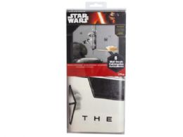 24 Units of star wars the force awakens stormtroopers peel and stick wall - Store