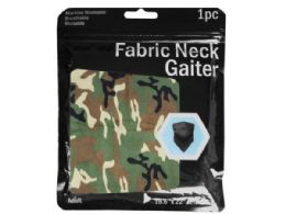 120 Units of Camouflage Printed Neck Gaiter - Face Mask