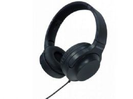 15 Units of Magnavox Extreme Bass Foldable Stereo Headphone In Black - Headphones and Earbuds