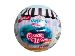 72 Units of ocean wave scented fizzy bath bomb - Store