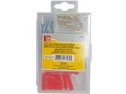 72 Units of 100 pc screw fastener set - Store