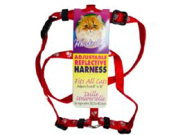 90 Units of assorted pet harnesses - Store